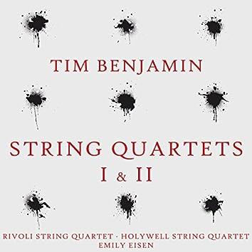 Tim Benjamin: String Quartets I & II