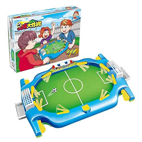Nieuwste mini tafelvoetbalspel, klassieke arcadespellen Desktop interactieve training voetbal speelgoed familiefeest, educatief indoor sport speelgoed cadeau