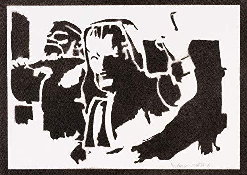 Eismagier Clash Royale Poster Plakat Handmade Graffiti Street Art - Artwork