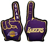 NBA LA Lakers #1 Fan Toy for Dogs & Cats. Best Tough PET Toy with Inner Squeaker.