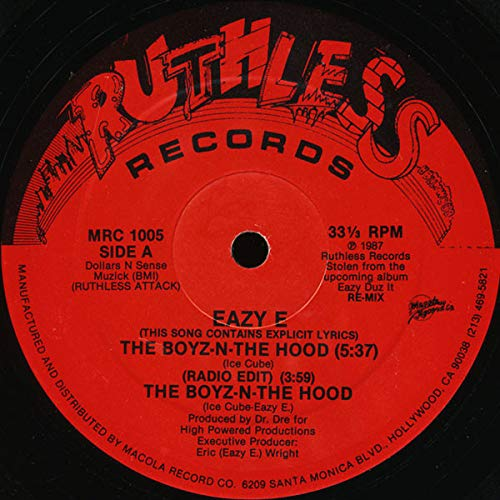 Eazy E* – The Boyz-N-The Hood, Ron-De-Vu L.A. Is The Place, Fat Girl