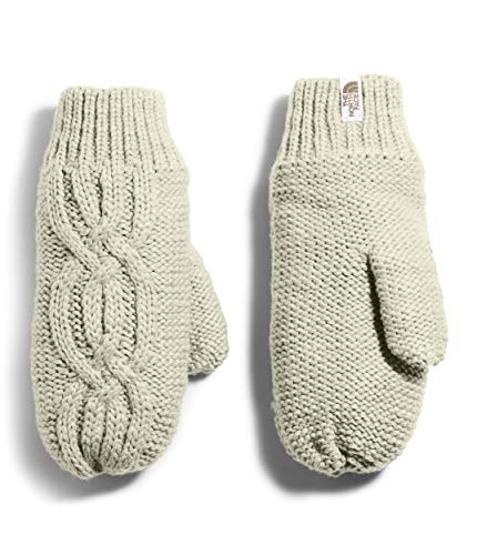 The North Face Women's Cable Minna Mitt, Vintage White, M/L