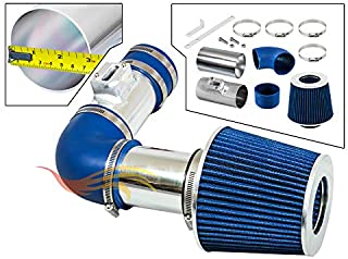 DRY FILTER 11-15 Chevrolet Cruze 1.4L L4 DOHC Turbo BLUE COLD AIR INTAKE KIT