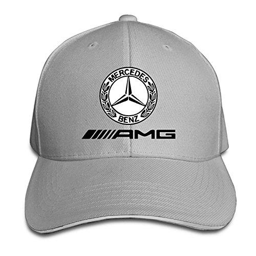 K-Fly2 Unisex Adjustable Mercedes AMG Logo Baseball Caps Hat One Size Ash