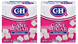 C&H Pure Sugar Cane Cubes, 16 oz (Pack of 2)