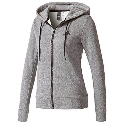 adidas Damen Sport ID Full Zip Hoody, Grau, L
