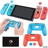 Kit de Boost de Prise Ferme Compatible avec Nintendo Switch: 2 manettes de Jeu, 2...