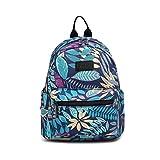 Fvstar Floral Girls Backpack Purse Cute Teen Satchel Backpack Women Outdoor Mini Travel Rucksack