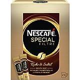 Nescafé SPECIAL FILTRE, Café Soluble, Pack de 25 Sticks (2g chacun)