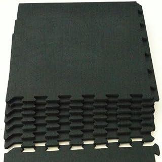 WILD FIT(ワイルドフィット) WILD FIT ジョイント式ジムマット 黒