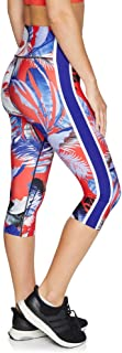 Rockwear Activewear Women's Olympia 3/4 Print Tight from Size 4-18 for 3/4 Length Ultra High Bottoms Leggings + Yoga Pants+ Yoga Tights