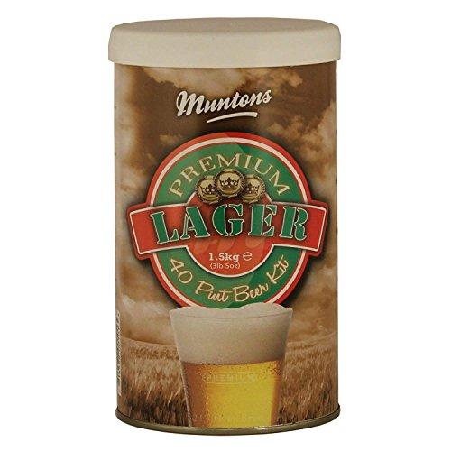 kit cerveza artesanal lager Marca Muntons
