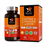Keto Nootropic Tablets - Caffeine Tablet + MCT Oil & L Theanine [500mg]