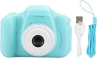 Socobeta Kamera bärbar mini barn barn digital videokamera leksak med 5 cm TFT-färgskärm (grön)
