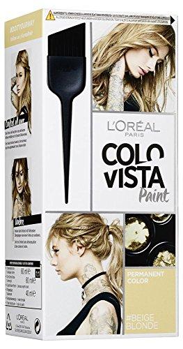 L'Oréal Paris Colovista Permanent Paint #BEIGEBLONDE, dauerhafte Haarfarbe, mit hochkonzentrierten Farbpigmenten und neu definierten Reflexen, #DOITYOURWAY