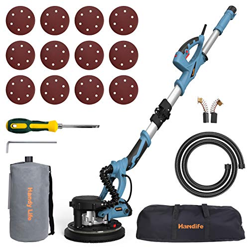 Drywall Sander, Handife 800W Electric Foldable Wall Sander,...