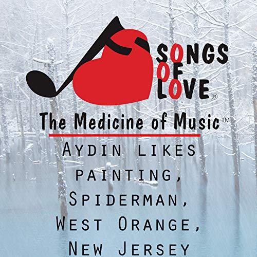 Aydin Likes Painting, Spiderman, West Orange, New Jersey