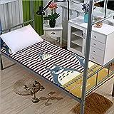 DNGDD Colchón de Suelo Colchón de futón japonés, Cama Plegable de Espuma viscoelástica Enrollable Colchón de Camping Tumbona de Suelo Sofás y sofás Colchón de Cama, 90 cm × 200 cm