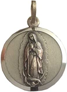 "Medaglietta""Madonna di Guadalupe"" in argento 925 millesimi - 925 Sterling Silver"" Madonna of Guadalupe"" Medal"