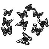 Milisten 10 Unids Mariposa Hierro en Coser en Parches Bordados Coser Apliques...