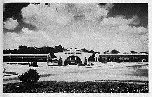 Historic Photos 1939 Photo City Market, Austin, Texas Print Shows Exterior View of The Market. Location: Austin, Texas