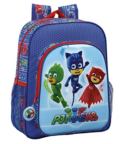 Safta Mochila Escolar Junior Pjmasks Oficial 320x120x380mm
