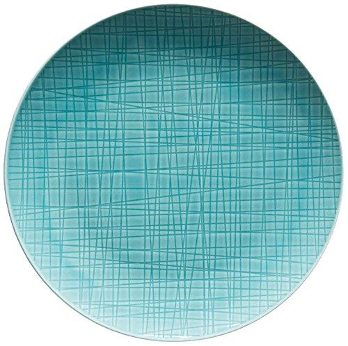 Rosenthal classic Flacher Teller, Blau/Türkis, Ø 21 cm