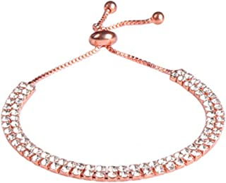 Tronet Charm Bracelets for Women Stainless Steel Bagel Leather Bracelet Retro Woven Men Accessories Under 5 Dollars for friendship and Valentines Day gifts