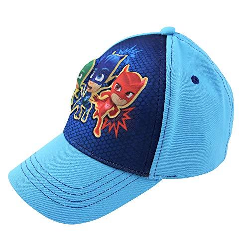 PJ Masks Boys Baseball Cap with Charachter 3D POP (Ages 2-7)