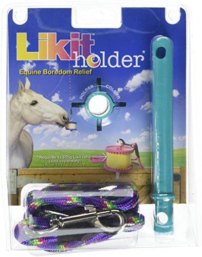 Likit Houder Speelgoed voor Paarden, Aqua