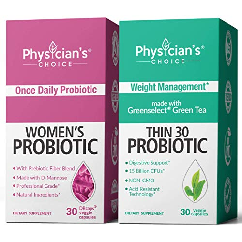 Women's Prebiotic-Probiotic & Thin 30 Probiotics Bundle