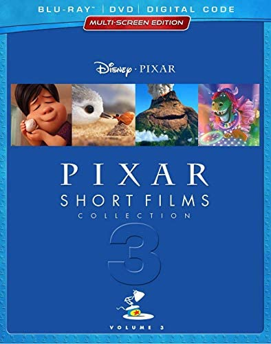PIXAR SHORT FILMS COLLECTION VOLUME 3 HOME VIDEO RELEASE Blu ray product image