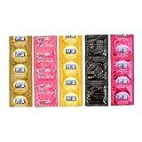 HermosaUKnight Mingliu 30Pcs / Box Paare Männer Kondome Naturkautschuk 5 Arten Penis Kondome