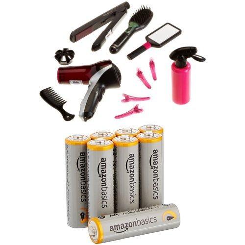 Klein - 5873 - Coiffure - Mega set de coiffure Braun Satin Hair 7 + piles AA Amazon Basics