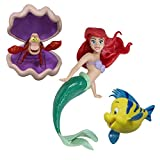 SwimWays Little Mermaid Disney Dive Characters Kids Pool Toy- Princess Ariel, Flounder, and Sebastian