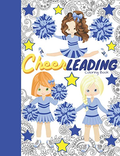 Compare Textbook Prices for Cheerleading Coloring Book: Cheerleader Coloring Book & Sketch Paper Combo Gift For Girls  ISBN 9781700534361 by Scribblers, Krazed