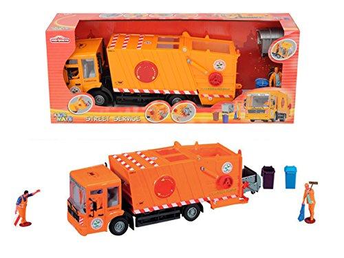 Smoby Majorette - 213414498 - Véhicule Miniature - Kidsmate Camion Benne - 38 Cm