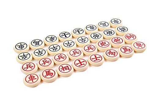 Xiangqi Spielsteine Chinesisches