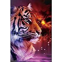 大人用パズルジグソー1000ピース、動物の虎木製パズルチャレンジ難しいゲームおもちゃアート絵画装飾壁画子供クリエイティブギフト,002