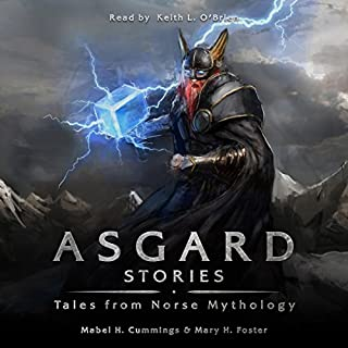 Asgard Stories audiobook cover art