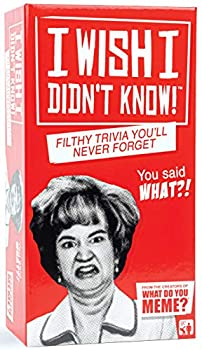 I Wish I Didn t Know - The Filthy Trivia Party Game - by What Do You Meme?