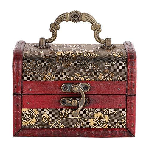 Rotekt Vrouwen Vintage Sieraden Ketting Armband Opslag Display Organizer Houten Case Gift Box