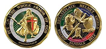 BirchRiver Armor of God Coin Challenge Coin Commemorative Collector