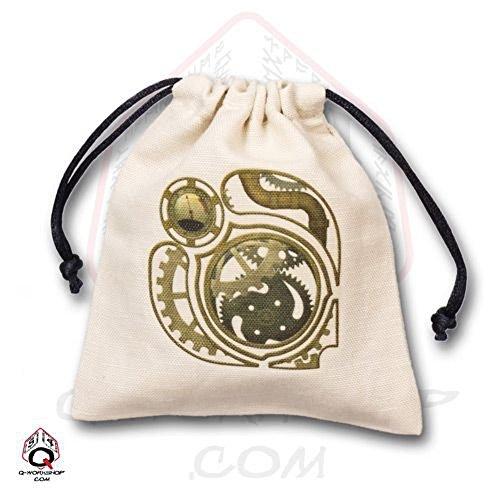 Qworkshop QWORKSHOPBSTE101Steampunk Dice Bag