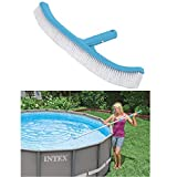 Intex 29053 - Cepillo con forma curva de 406 mm para pared de piscina