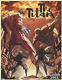 The titans calendar 2022: Attack on titan season 4 / 16 month wall calendar planner /agenda contains to Do List, Attack on titan fan, Attack on titan calendar 2022 , size 8.5x11 in