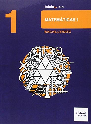 Matemáticas Ciencias Naturales. Libro Del Alumno. Bachillerato 1 (Inicia Dual)   9788467394412