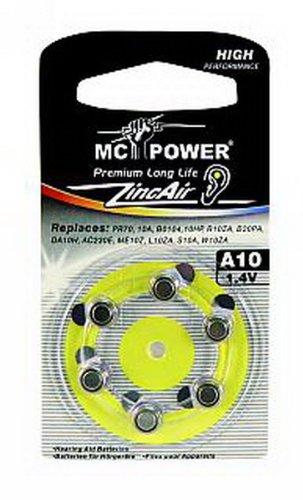 Zinc-air cAMELION pile bouton pour appareils auditifs-a10