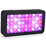 LEDGLE LED Plant Grow Light 300W(50X6W) Full Spectrum with UV IR Plant...