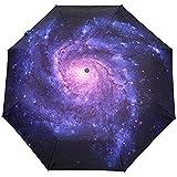 Espiral Nebulosa Estrellas Galaxy Espacio Auto Abrir Cerrar Sol Lluvia Paraguas